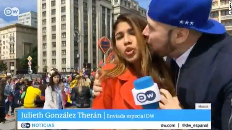 Ruso que agredió sexualmente a periodista colombiana en el