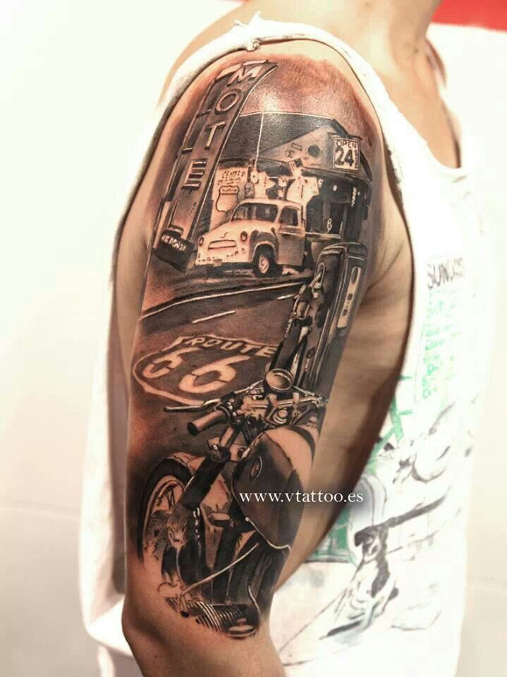 Bekannt Route 66 | Tattoos | Pinterest | Route 66, Tattoo and Tatoo RR97