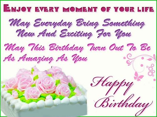 birthdaywishespicturesandquote Entertainent – Quotes About Birthday Greetings