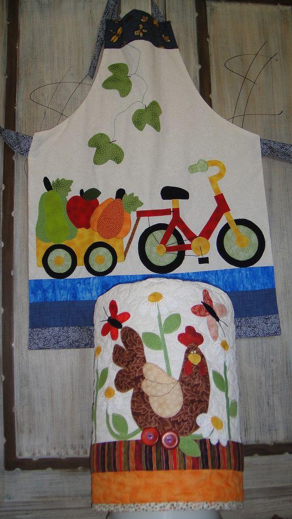 https://flic.kr/p/adDk15   212  Bicicleta e galinha   Avental e Capa 20L