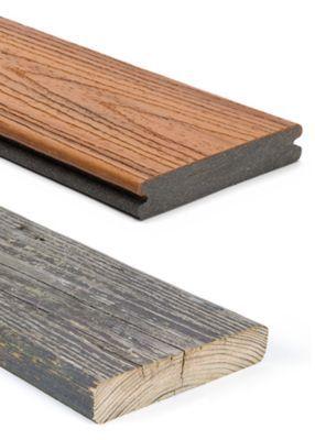 Trex Composite Decking Vs Wood Comparison Trex Trex Composite Decking Trex Deck