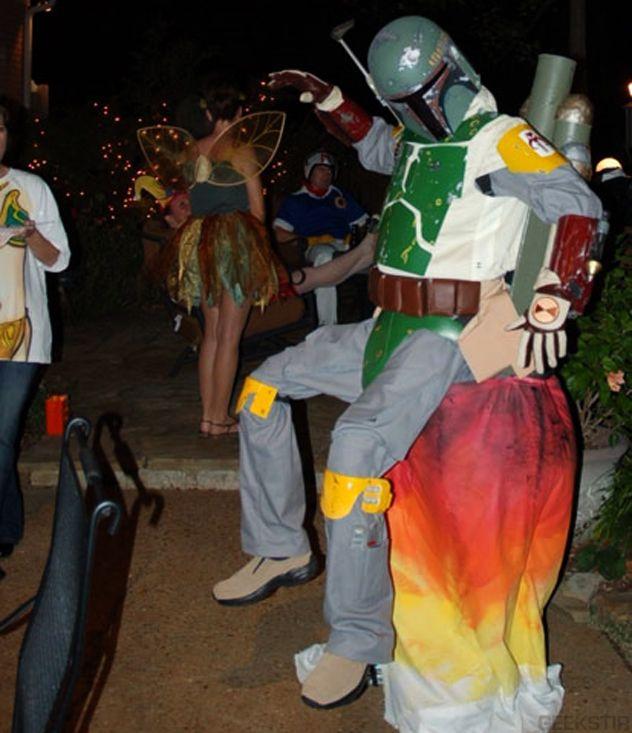 Boba Fett Jetpack Costume Boba fett Pinterest Boba fett - different halloween costume ideas