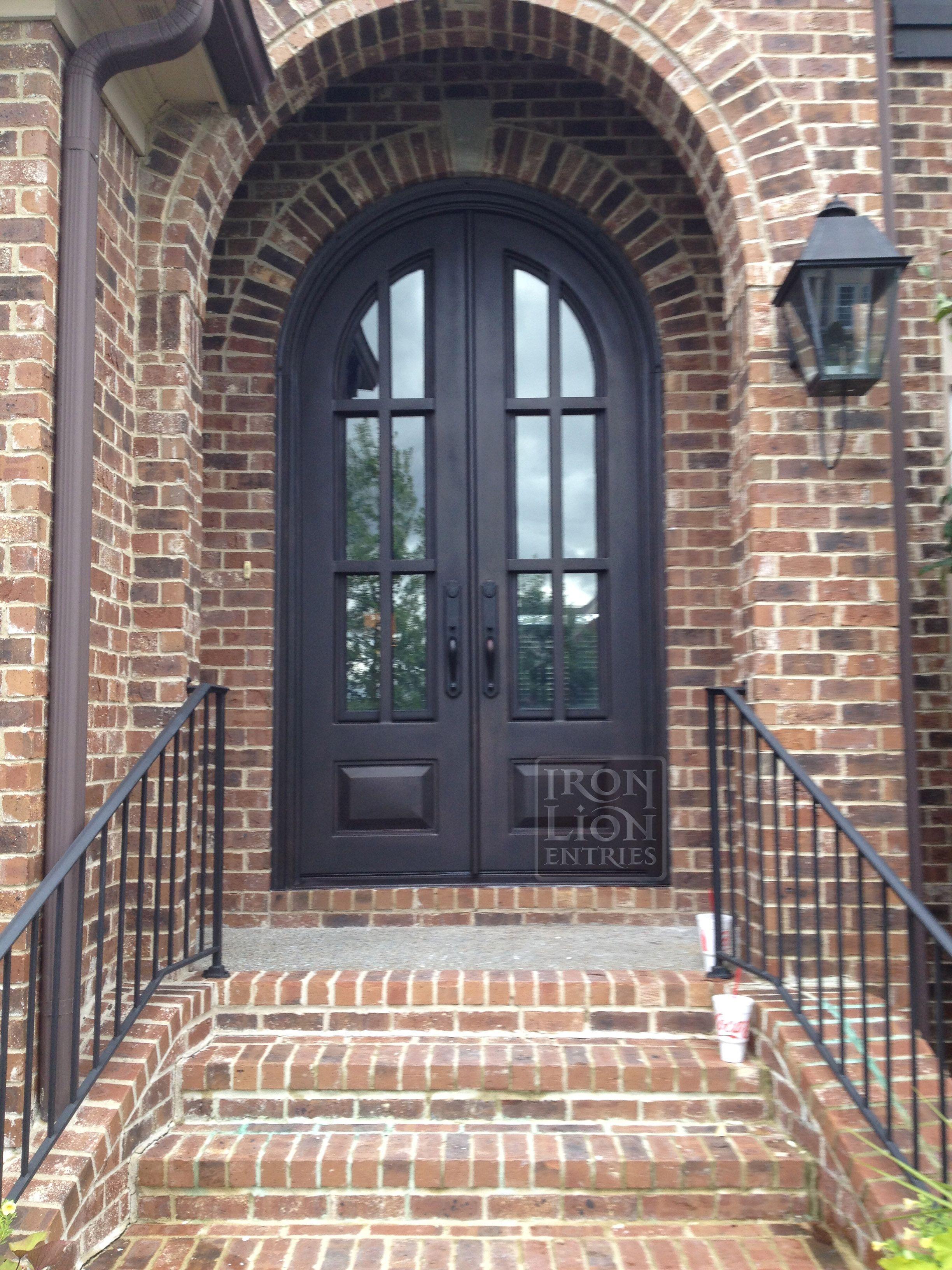 Wrought Iron Entry Door Ironentrydoor Iron Door Iron Lion Entries 10ft Custom Iron Entry Door Iron Doors Iron Front Door Iron Entry Doors