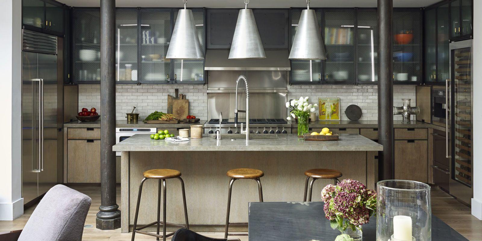 estilo-industrial-cocinas-americanas | Diseños de cocinas ...