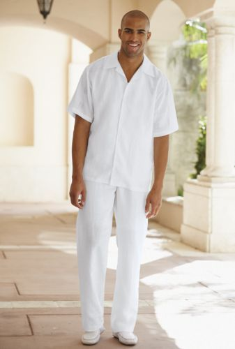Detalhes sobre RESORT BEACHWEAR ELAN PANTS FOR MEN LINEN | Resorts ...