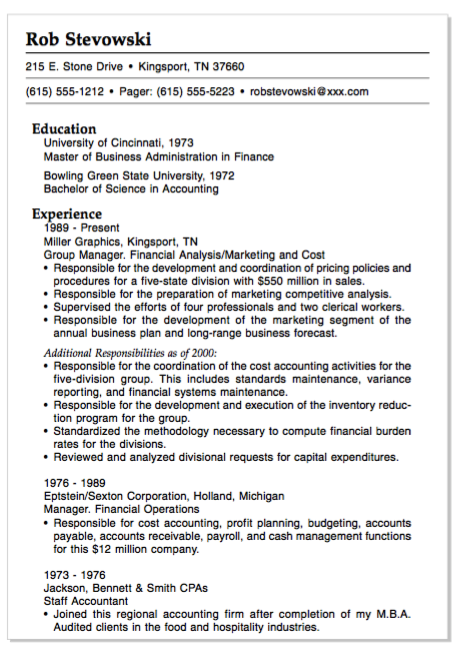 example of financial operations resume http exampleresumecv