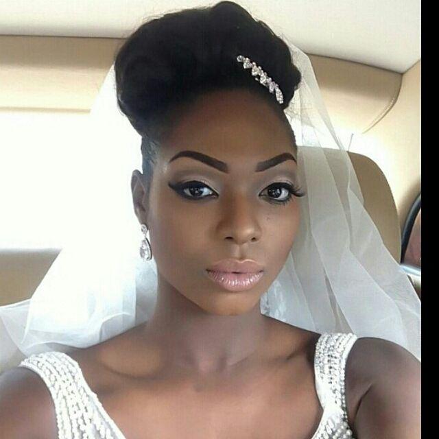 Nigerian Wedding Beautiful Natural Looking Bridal Makeup Ideas