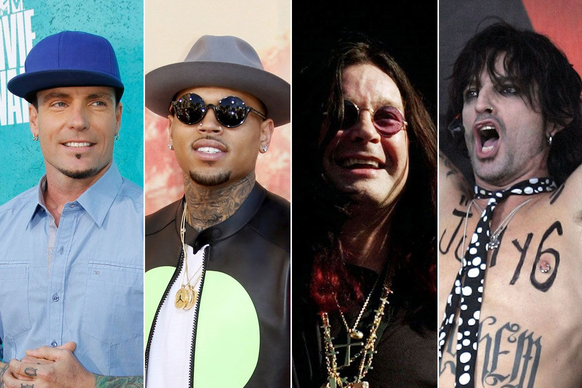 Chris Brown and Odd Future inspired protests but several white artists with domestic violence charges have toured New Zealand with no trouble