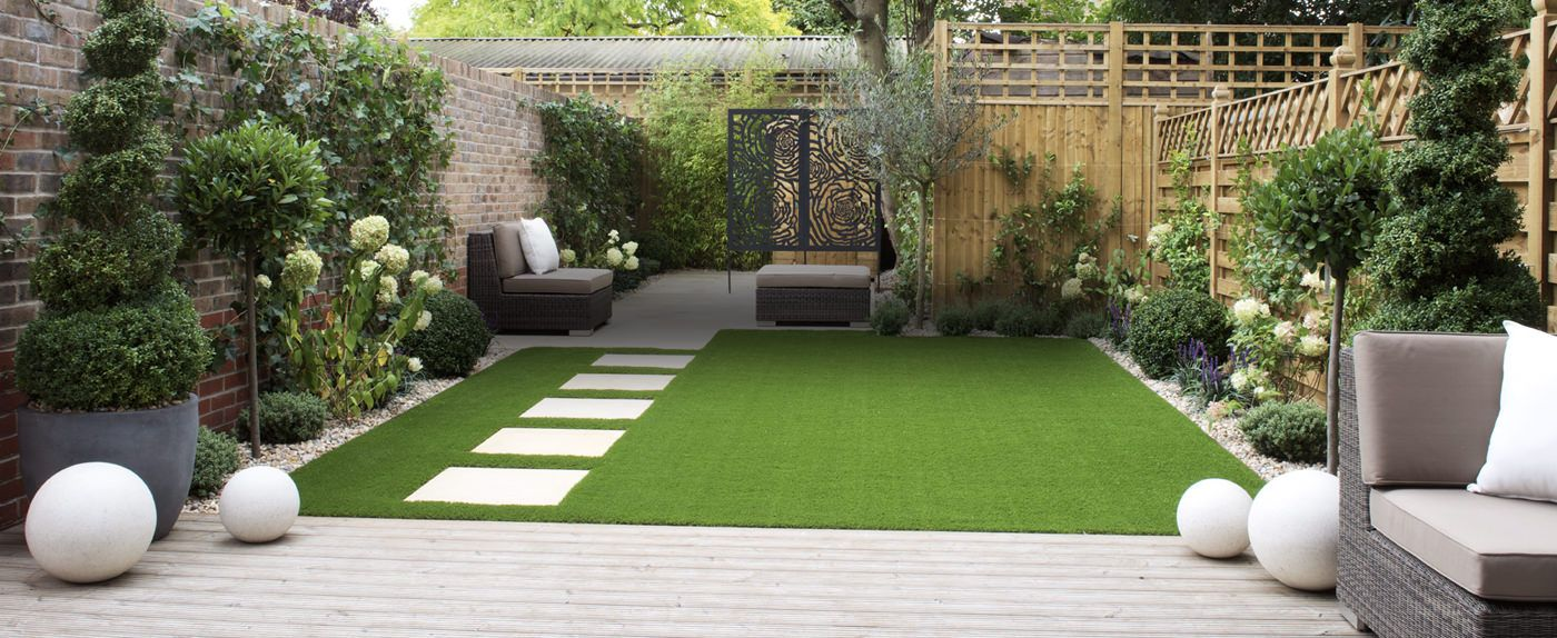 Nepgras kunstgras is vaak amper van echt te onderscheiden for Garden design ideas artificial grass