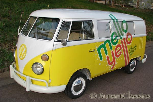 Fantastic Mello Yello Promo 1966 Bench Seat Vw Bus For Sale Cool Vws Evergreenethics Interior Chair Design Evergreenethicsorg