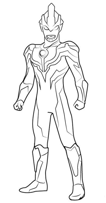 Pin Oleh Amirul Ahmad Di Ultraman Coloring Pages Superhero Themes Buku Mewarnai Lembar Mewarnai Halaman Mewarnai