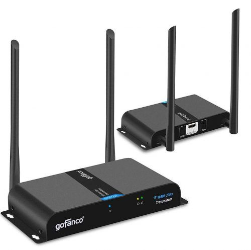 Gofanco 660ft 1080p Wireless HDMI Extender Kit