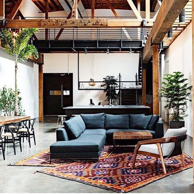 A Great Casual Relaxed Bohemian Living Space For Large Range Of