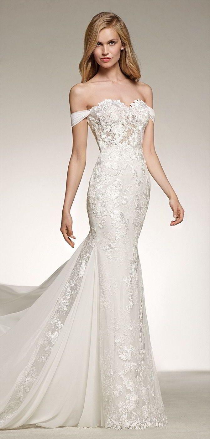 Pronovias wedding dresses wedding pinterest mermaid