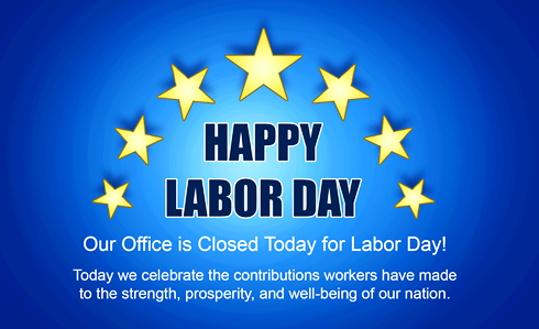 Labor Day 2020 Closed Signs Happy Labor Day Day Labor Day Holiday