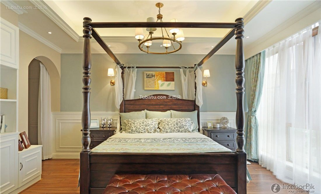 Retro Bedroom Design Fascinating American Retro Bedroom Villa Design Decoration Pictures 2015 Design Decoration