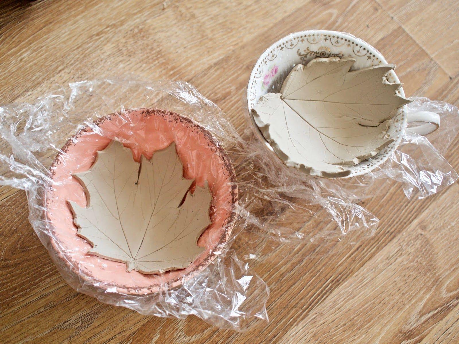 DIY leaf bowl, Autumn craft idea – Dainty Dress Diaries