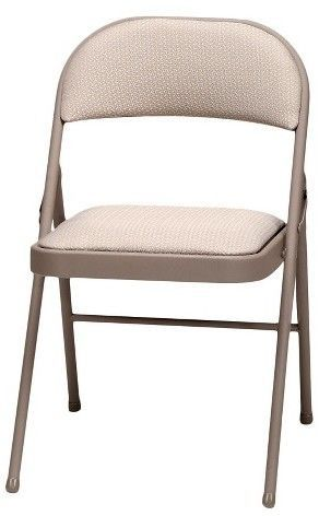 Fine 4 Piece Sudden Comfort Deluxe Fabric Padded Folding Chair Pabps2019 Chair Design Images Pabps2019Com