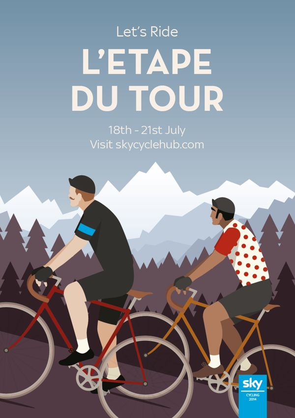 Sky Staff Cycling Events on Behance