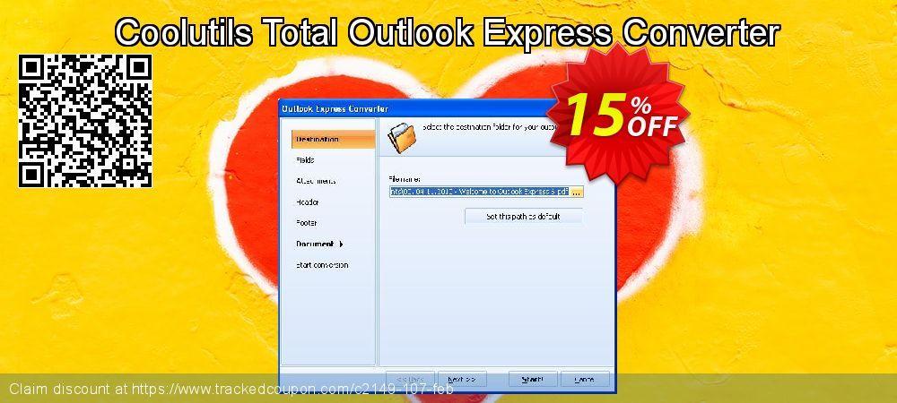 Coolutils Total Outlook Express Converter Coupon code
