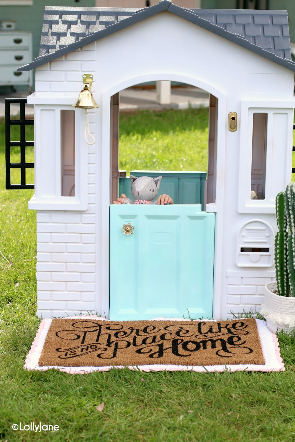 How To Paint a Plastic Playhouse Like a Pro (With images