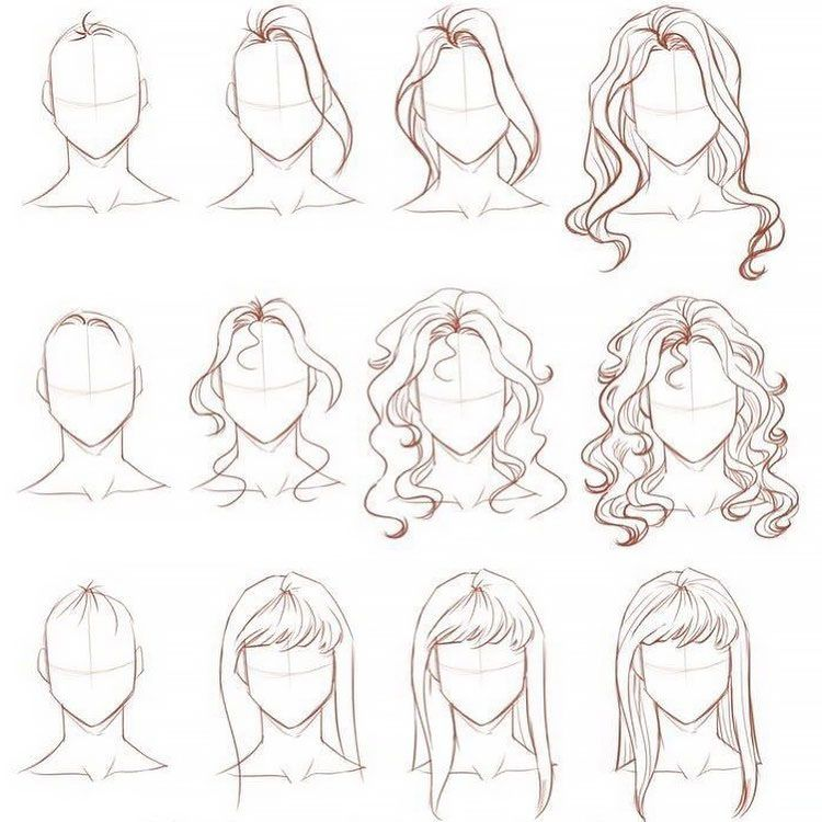 22 How To Draw Hair Step By Step Tutorials Beautiful Dawn Designs In 2020 Girl Hair Drawing How To Draw Hair Drawing Hair Tutorial