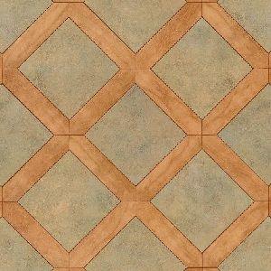 Stone Parquet Sierra Green Art Deco My Sweet S Bungalow - Armstrong parquet vinyl floor tiles