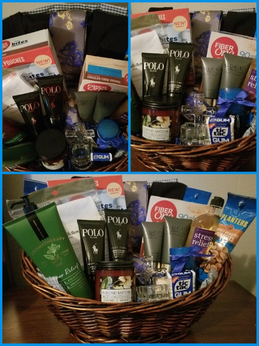 Fathers Day Gift Basket For A Coworker