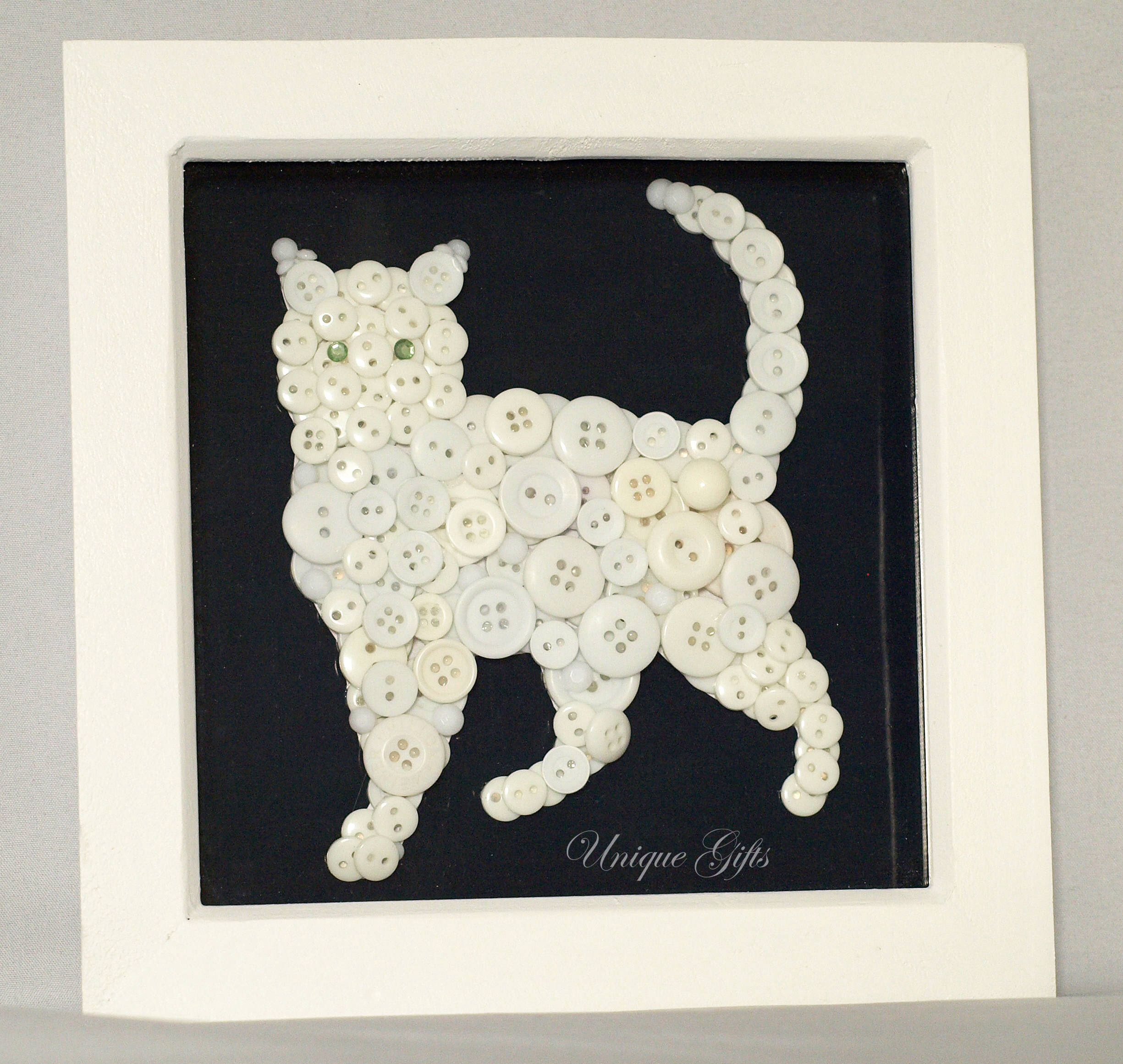 Pin by Sharon Whitfield on Crafts   Button art, Buttons, Art