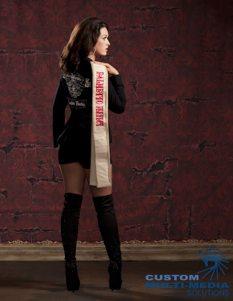 Pageant Crown And Sash
