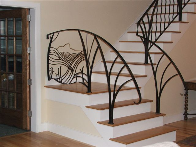 Charming Stairs Railing # Stairs And Railing Toronto ~Stairs And Railing Designs
