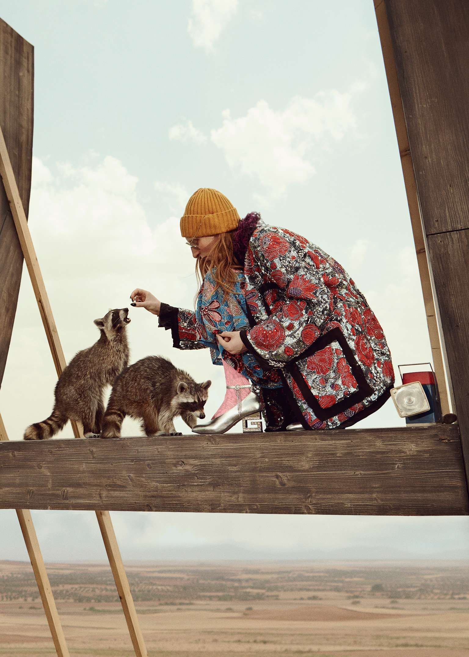 a96eebc83b Gucci Gothic  the Cruise 2019 campaign features young farmer-punks in a  surreal