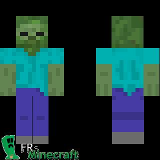 Minecraft Skin Minecraft Zombie Minecraft Minecraft Skins Zombie