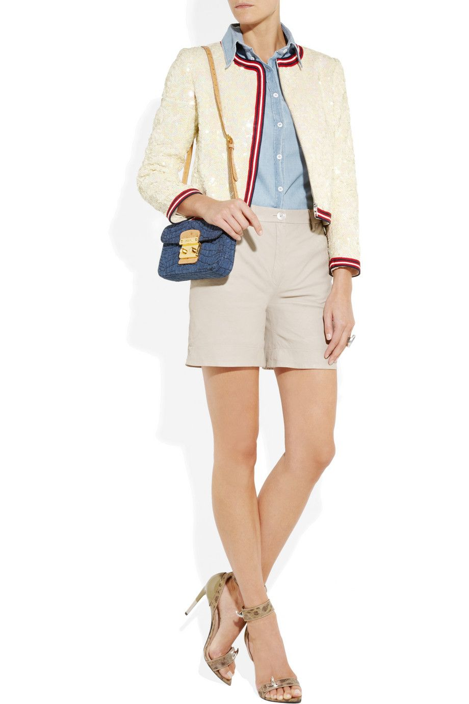 J.Crew Sequined linen bomber jacket  - seriously. sequins, linen, bomber jacket.. unreal.