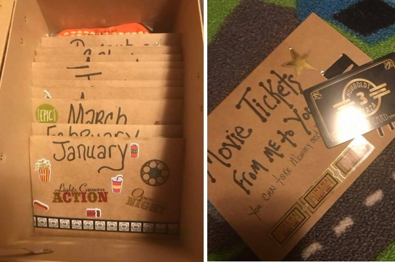 Grandma's Adventure Box Idea Is The Gift That Keeps on Giving   Diy christmas gifts, Budget gift ...