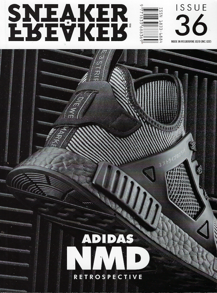 2613460dcb0a2 Sneaker Freaker Magazine Issue # 36 Black Adidas NMD | Products