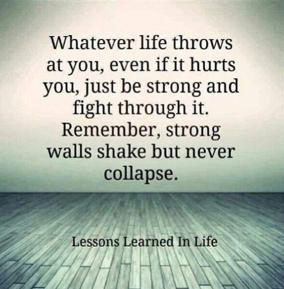 Tough times gets you through better times. (With images