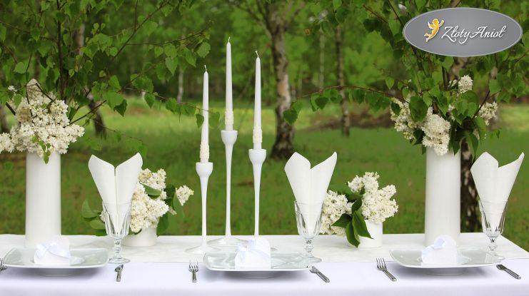 Jak Udekorowac Stol Komunijny Zobacz Przyklady Sklep Zlotyaniol Pl Table Decorations Decor Wedding