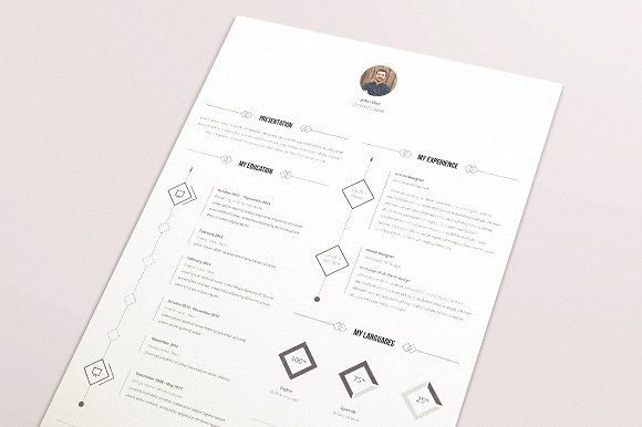 Resume Template by Báez Factory on @mywpthemes_xyz Best Resume - resume template