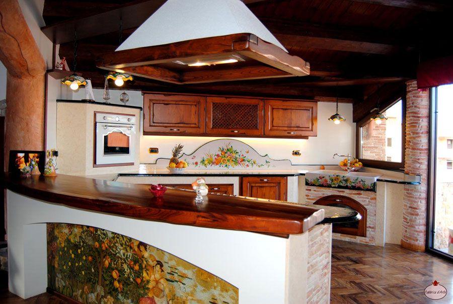 30 Cucine in Muratura Rustiche dal Design Classico | Gardens and House