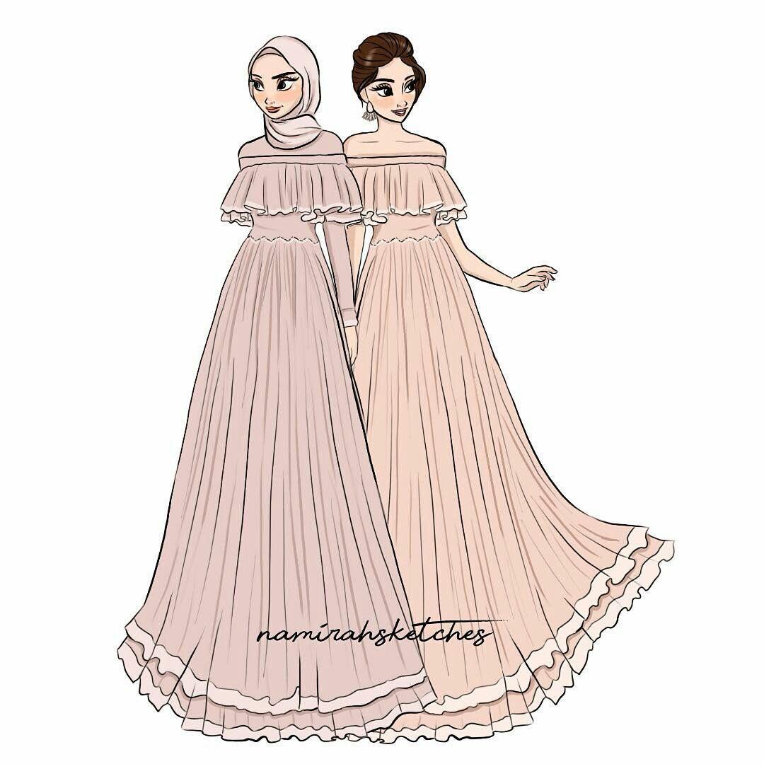Gambar Ilustrasi Model Pakaian Oleh Bbika Pada Girls