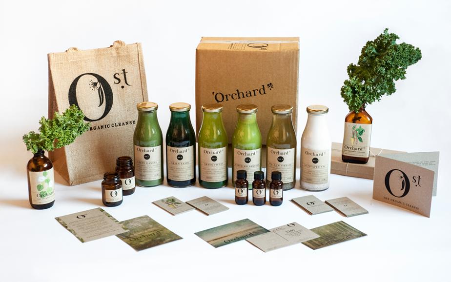Orchard St branding by Smack Bang Designs / #branding #packaging #design #smackbangdesigns