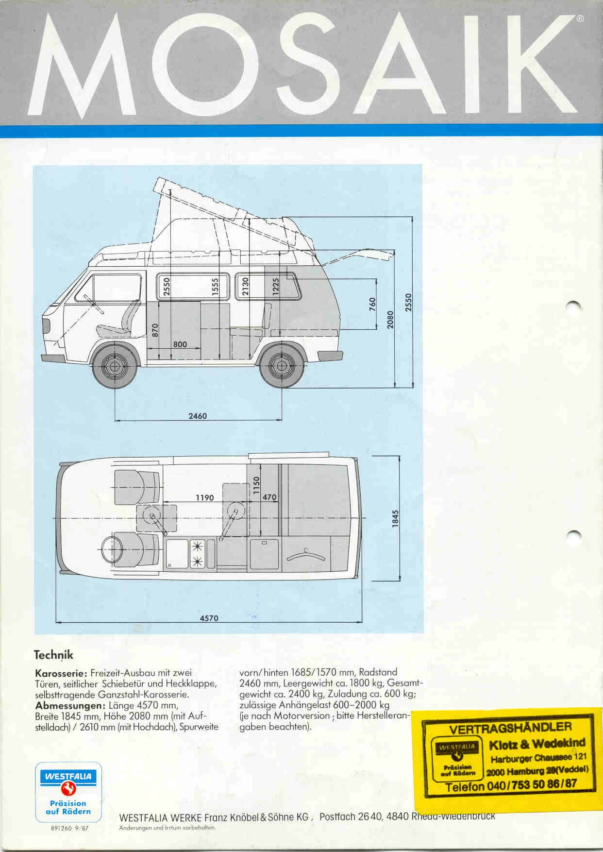 8.5 feet tall? The 85 Hightop Westy   The Bus Board   Pinterest   Vw ...