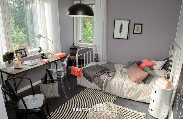 Passiivikivitalo Lumikki - Makuuhuone 4 | Asuntomessut
