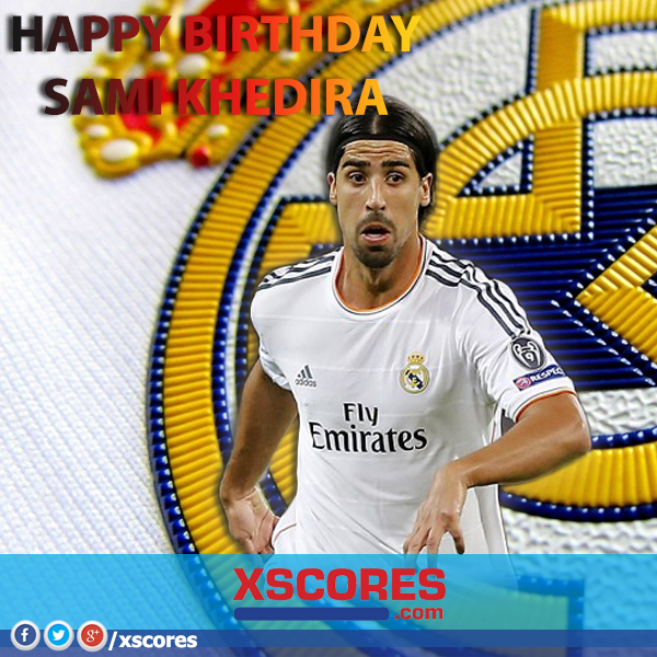 Happy Birthday Sami Khedira And Get Well Soon Khedira Realmadrid Sami Khedira Sami Sports Jersey