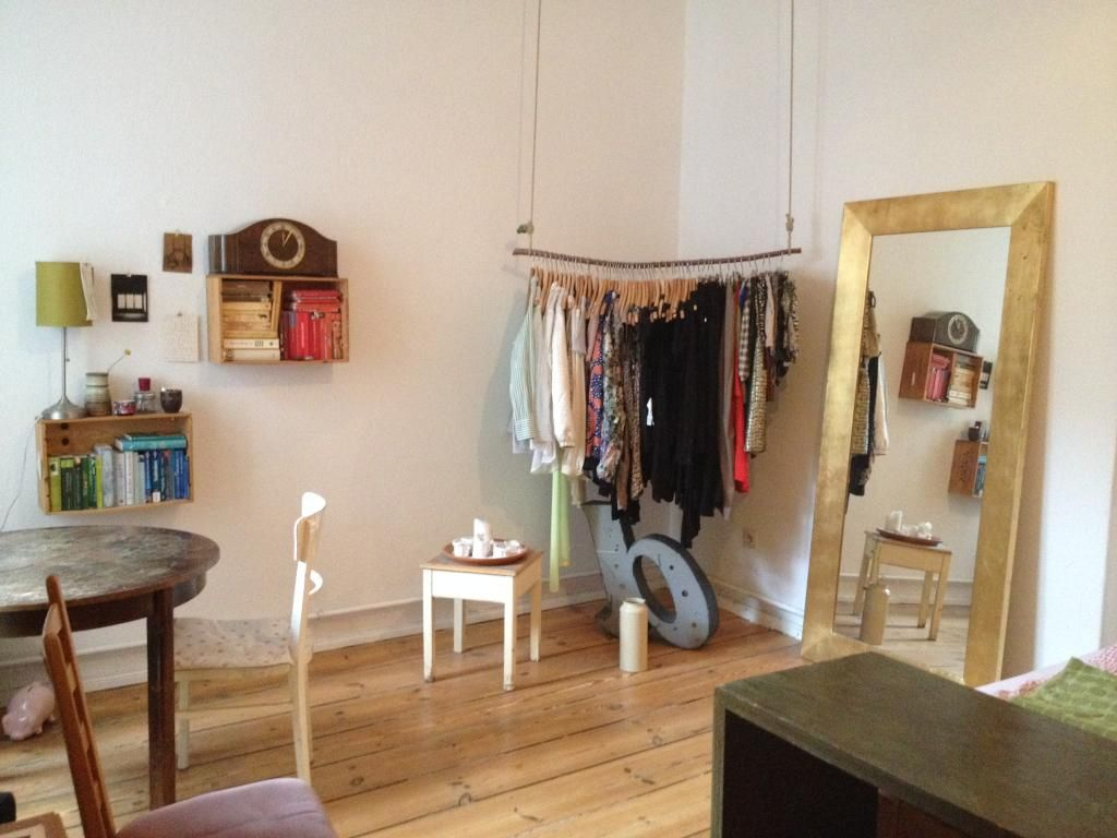 Kreative Hangende Diy Kleiderstange Perfekt Furs Wg Zimmer Oder