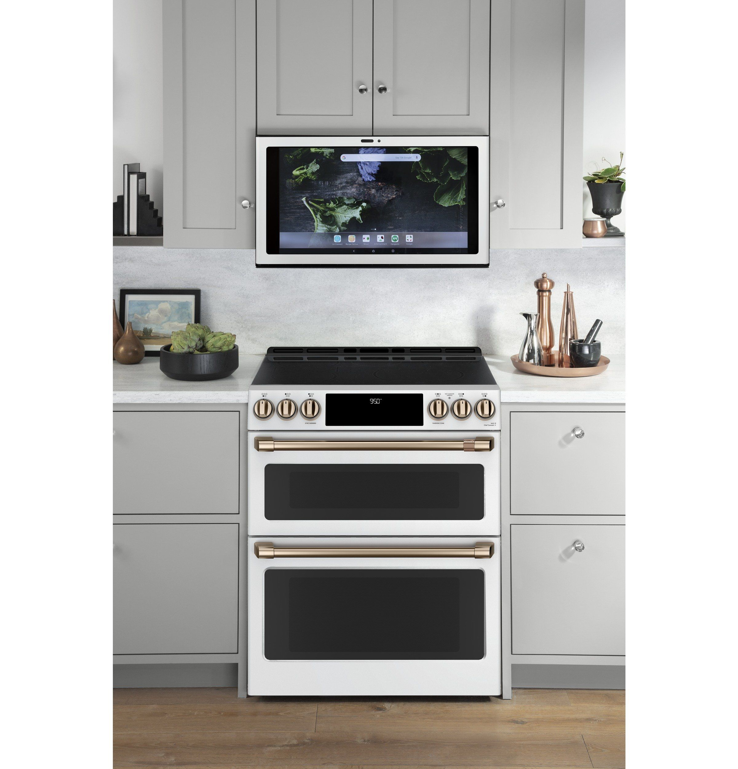 Ge Kitchen Hub Range Hood 30 Inch White Rc Willey Furniture Store Gas Range Double Oven Double Oven Range Gas Double Oven