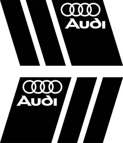 2x Car Auto Racing Windshield Sticker Aufkleber Autocollants