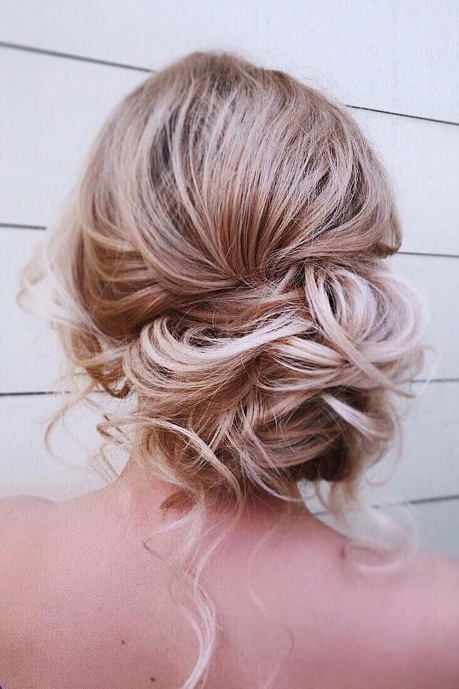 45 Mother Of The Bride Hairstyles Timeless Bridal Hairstyles Messy Curly Low Side Bun Kamalov Mother Of The Bride Hair Bride Hairstyles Bridesmaid Hair Long