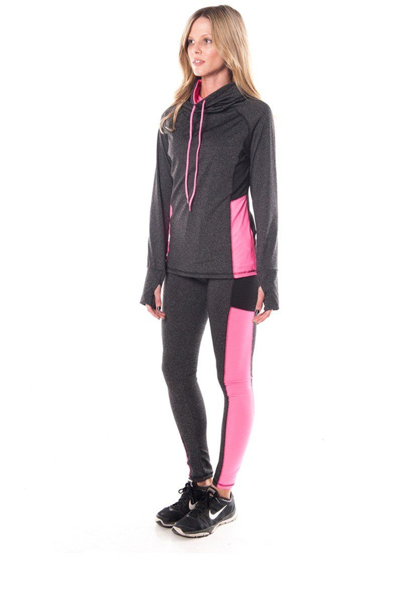 dc1cfe9a836 Ladies Plus Size Tops. Ladies fashion womens active sport yoga   zumba 2 pc  set with pull over jacket   leggings - The Jewelry Barn